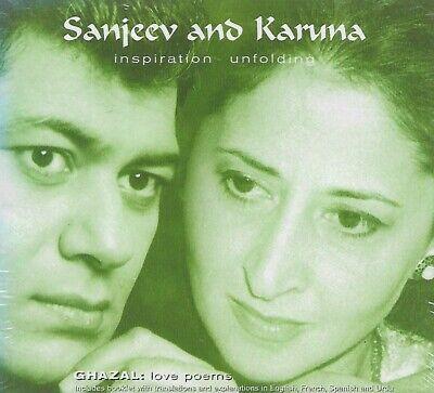 Sanjeev & Karuna : Ghazal Inspiration Unfolding CD FACTORY SEALED UNPLAYED