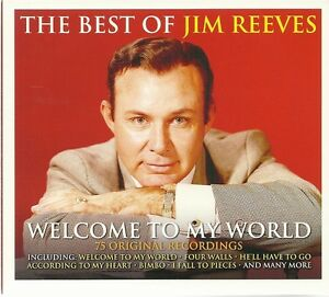 THE BEST OF JIM REEVES WELCOME TO MY WORLD - 3 CD BOX SET