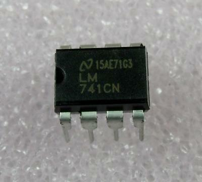 Lm741cn Opamp Dip-8  5pcs Per Lot