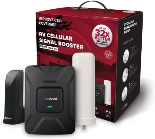 weBoost 470410 RV Motorhome Camper Cell Phone Signal Booster - Used w/New Parts