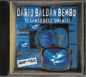 DARIO-BALDAN-BEMBO-CD-FUORI-CATALOGO-034-IL-CANTO-DELL-039-UMANITA-039-034-RENATO-ZERO