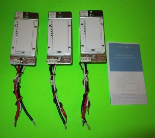 CHOOSE HOW MANY- INSTEON 2477S SWITCHLINC ON/OFF DUAL BAND REMOTE CONTROL SWITCH