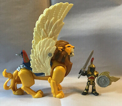 Imaginext Castle Knights King Leonidis with Winged Lion - Fisher Price