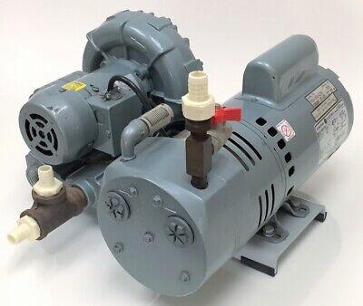 Gast Compressor Motor Air Blower 0823-101q-g274x 12 Hpregenair R2103 Blower