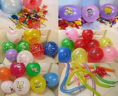 Disney Character Latex Party Balloons Birthday Wedding,blow & whistle, modelling - Whistling Balloons