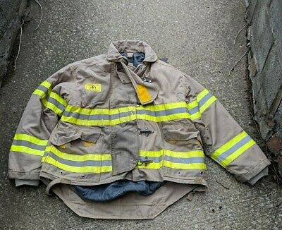 Morning Pride Firefighter Bunker Turnout Gear Coatjacket 48c 2733l 32s