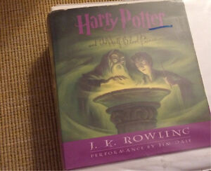 Harry Potter CDs of  Half blood prince & order of Phoenix