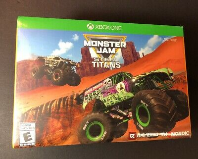 One Collector - Monster Jam Steel Titans [ Collector's Edition ] (XBOX ONE) NEW