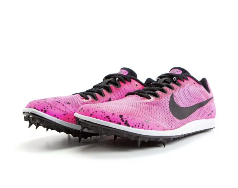 NEW! Nike Racing Track Shoes 907567-602 Women's Size 8.5 Pink/Black