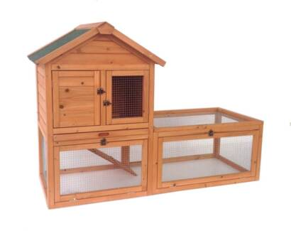 New Chicken Coop Rabbit Hutch Cage Guinea Pig Hen House Hutch