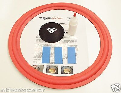 "Cerwin Vega Lw-15 Subwoofer 15"" Foam Speaker Repair Kit W..."