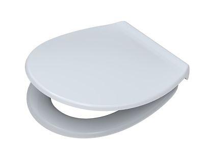 WC-Sitz Pagette EXKLUSIV weiß mit Deckel, mit Edelstahl-Befestigung 790821602