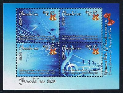 Niuafo'ou 2014 Christmas Stamp Issue Souvenir Sheet
