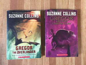 2 Gregor the Overlander Books by Suzanne Collins