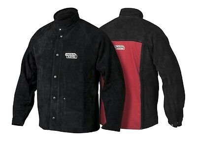 Lincoln Heavy Duty Leather Welding Jacket (K2989-XXXL)