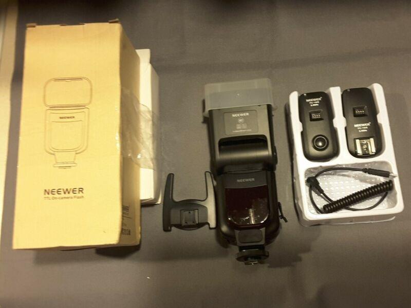 Neewer TTL ON-CAMERA FLASH WITH FC-16 Studio Strobe /Camera Flash/camera