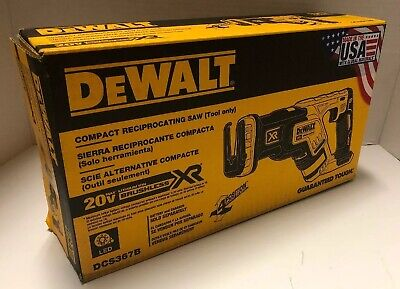 BRAND NEW DEWALT DCS367B 20V 20 Volt MAX XR Brushless Compact Reciprocating Saw