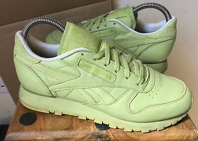 Ladies REEBOK X Face Stockholm Leather Trainers - Size 4.5 (37.5)