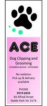 Ace Dog Clipping and Grooming Noble Park Greater Dandenong Preview