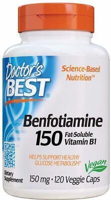 Benfotiamine, Doctor's Best, 120 capsule 150