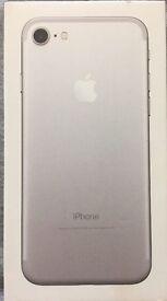 Apple iPhone 7 (Latest Model) - 32GB - Silver (O2 Network) Smartphone