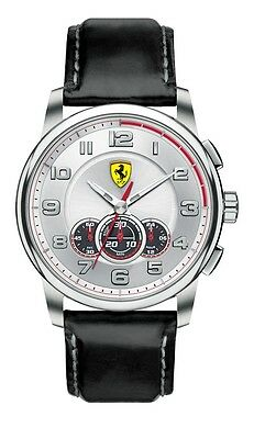 NEW SCUDERIA FERRARI 0830057 MENS HERITAGE WATCH - 2 YEARS WARRANTY