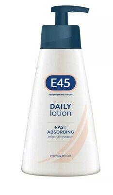 E45 Straightforward Skincare Daily Lotion Moisturiser 400ml for sale  London