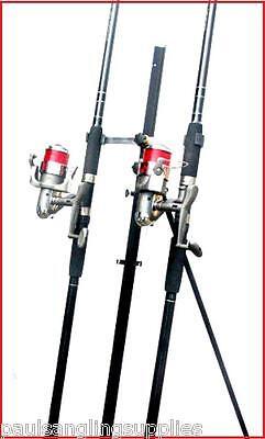 2 X 15 Ft Mitchell Catch Rods & Max 70 Reels & Tripod Beachcaster Sea Fishing