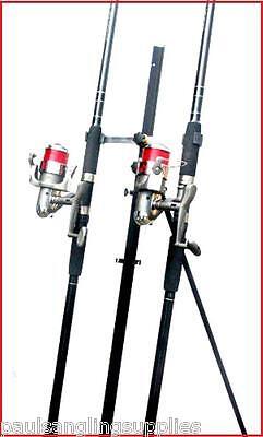 2 X 15 Ft Mitchell Catch Rods & Max 70 Reels & Tripod Beachcaster Sea Fishing