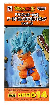 Banpresto Dragonball Z Super WCF Vol.3 Super Saiyan God GOKU Figure 014