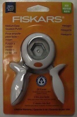(Fiskars 159070 Hexagon Medium Squeeze Punch)