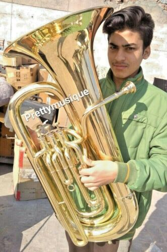TUBA EB PITCH MADE OF PURE BRASS + CUSHIOCASE + FREE SHIPPING @ DISCUNTED PRICE