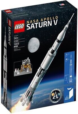 LEGO 21309 Ideas Series NASA Apollo Saturn V - New & Factory Sealed - In Hand