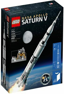 LEGO Ideas 21309 NASA Apollo Saturn V -NEW Sealed, FREE Shipping, Space, Moon