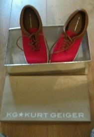 Kurt Geiger canvas shoes