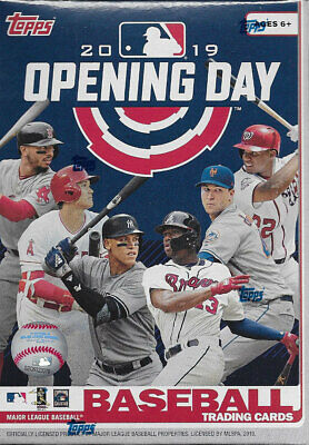 2019 Topps OPENING DAY Baseball Blaster Box of Packs Possible AUTOGRAPHS (Day Baseball Jersey)