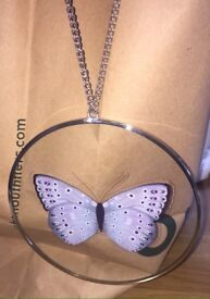 Bedroom decoration butterfly trinket