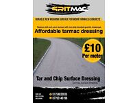 Tarmac chipseal dressing