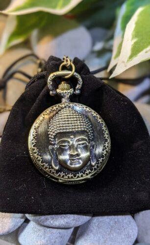 %22Gautama+Buddha%22+Antique+Effect+Metal+Pocket+Watch