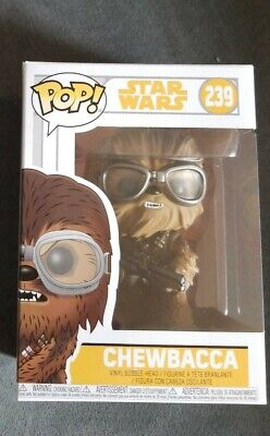 Funko POP! Movies Star Wars Chewbacca w/ Goggles #239