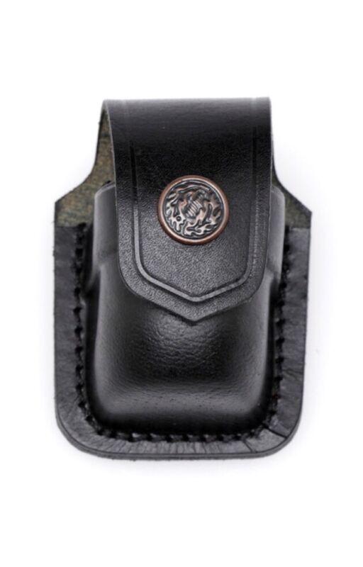 Leather Speedloader Case - (# 037 BLK)