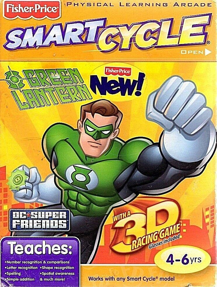 BRAND NEW Fisher Price Smart Cycle Green Lantern Game