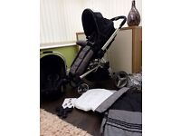 Petite Star Kurvi match complete travel system