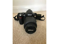 Barely Used - Like New - Nikon D60 - 18-55mm lens