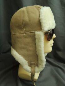 Beautiful Sheepskin Trapper Hat
