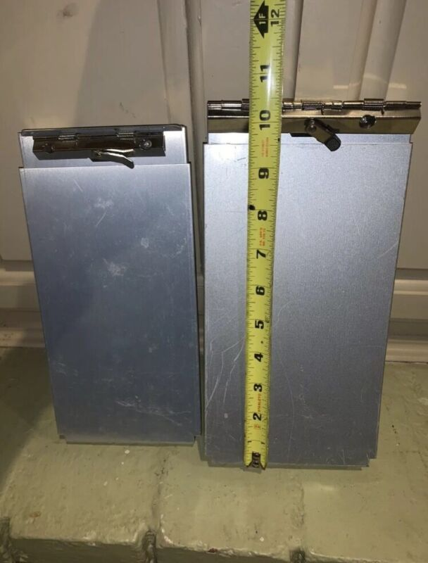 Saunders Recycled Silver Aluminum Form A Holder Measures (2)  AH4295