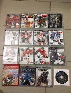 Lots of PS3 Games - most $5 or less