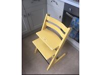 Stokke Tripp Trapp High Chair Yellow