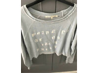 C river island blue jumper 12