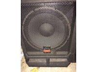 Wharfedale Pro EVP-X15PB x 2, 400W Active Subwoofer Not Working Amp Blown